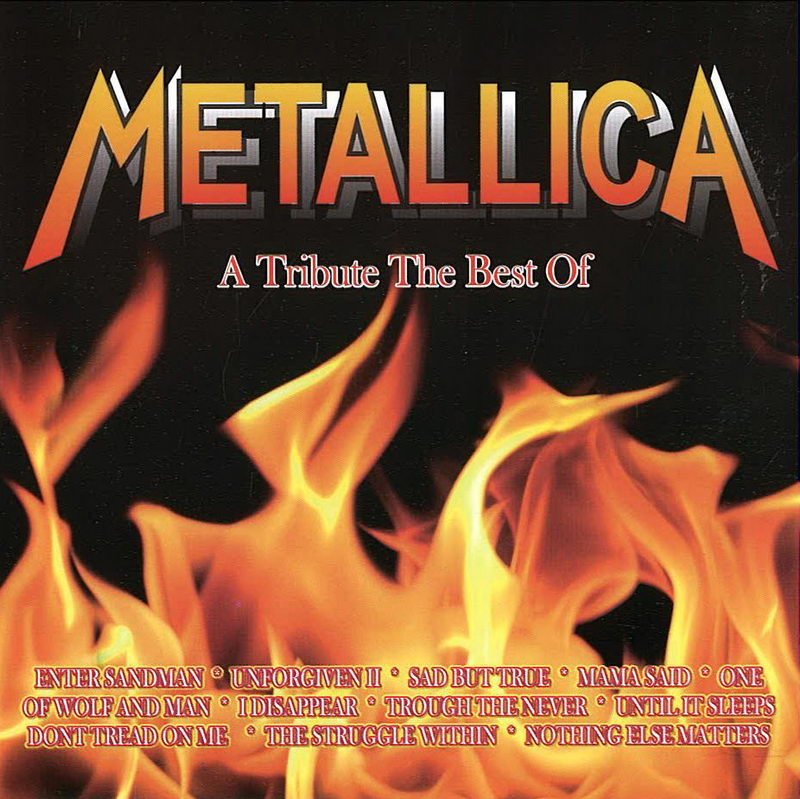 A Tribute The Best Of Metallica - CD cover