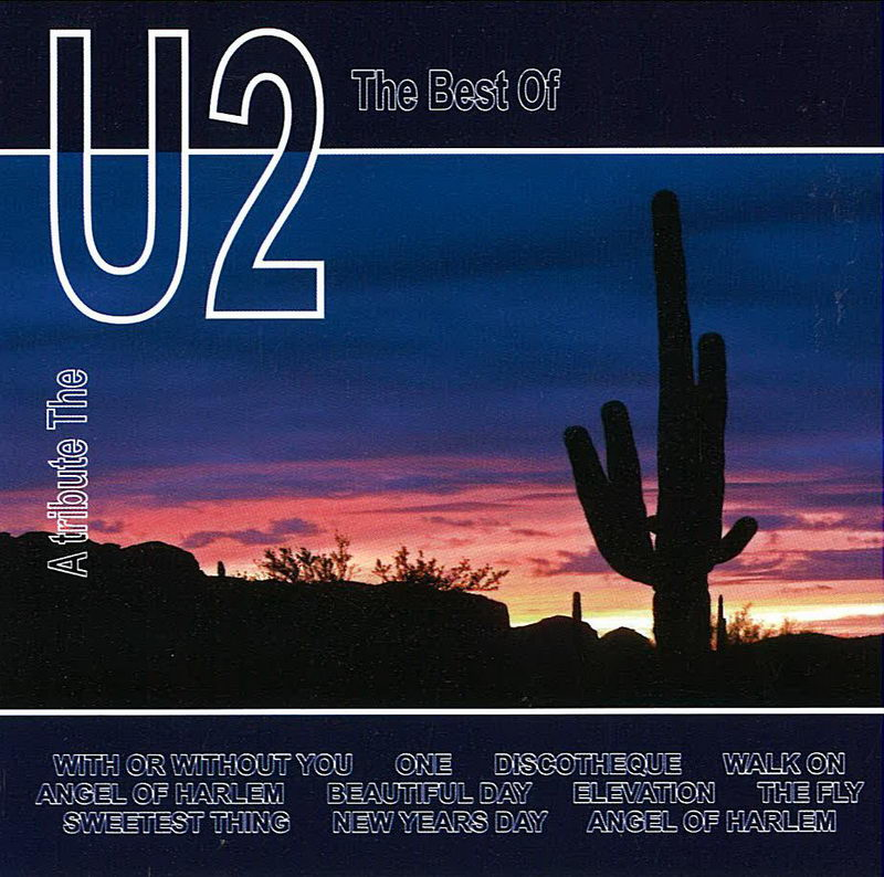 The best of U2 - CD cover