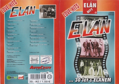 Elán - Love Hits 30 let s Elánem CD