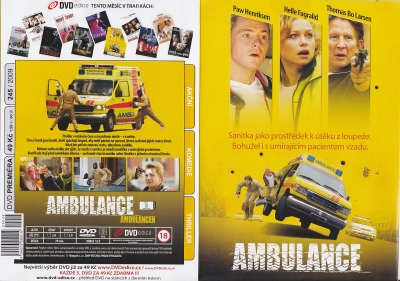 Ambulance DVD