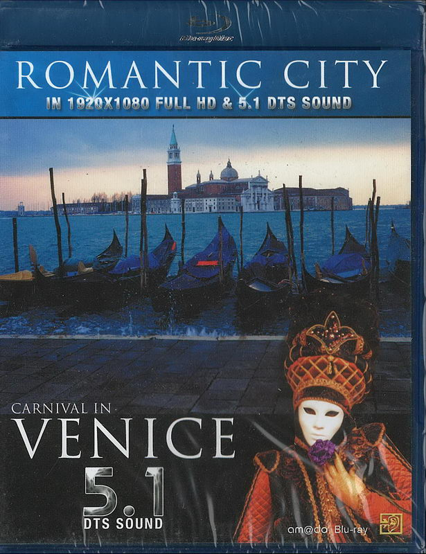Romantic City - Venice (Blu-ray)