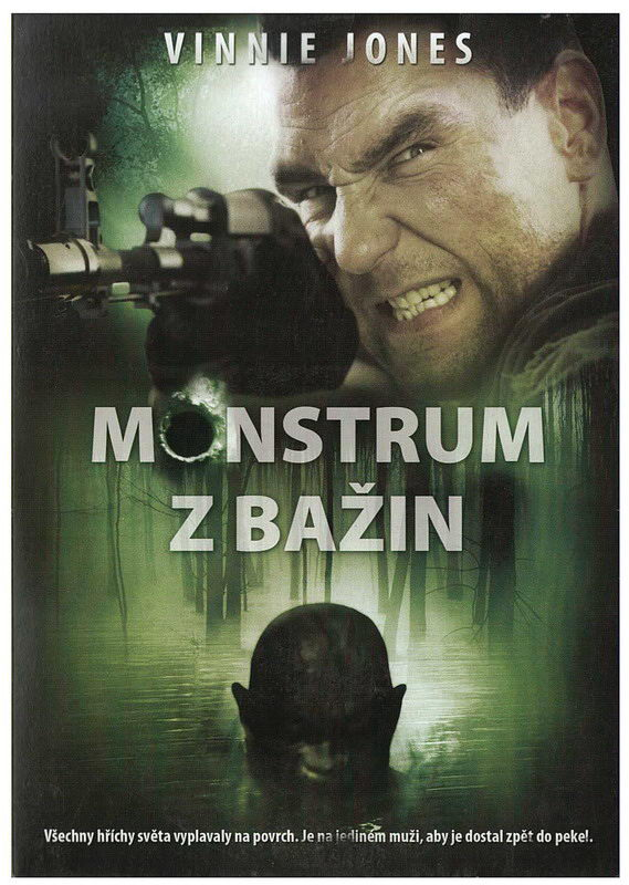 Monstrum z bažin DVD