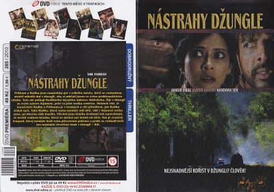Nástrahy džungle DVD