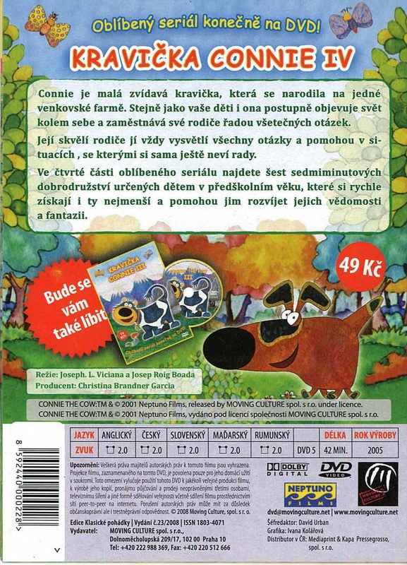 Kravička Connie 4. DVD