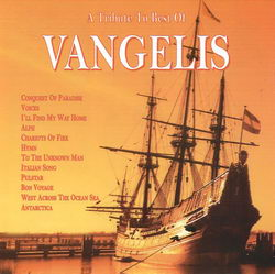 A Tribute To Best Of Vangelis - CD cover