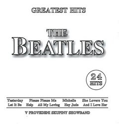 Greatest Hits The Beatles - CD cover