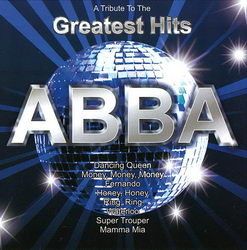 A Tribute To The Greatest Hits - Abba - CD cover