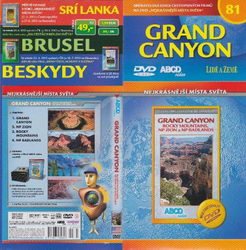 Grand Canyon DVD cestopis