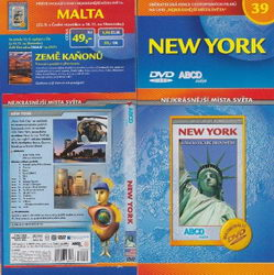 New York DVD cestopis