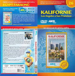 Kalifornie Los Angeles a San Francisco DVD