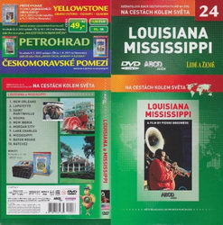 Louisiana Mississippi DVD cestopis