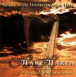 Relax with instrumental hits - harfa CD