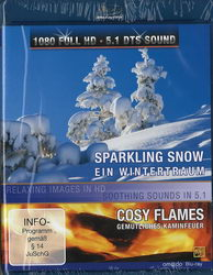 Sparling Snow/Cosy Flames (Blu-ray)