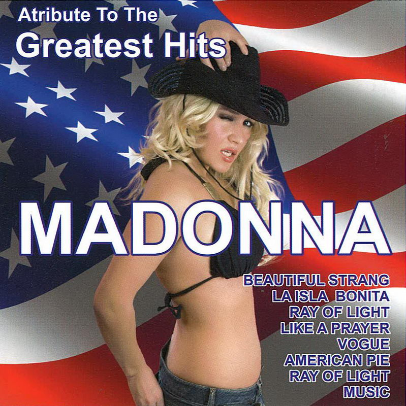 Atribute To The Greatest Hits Madonna - CD cover