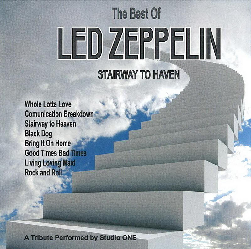 The Best Of - Led Zeppelin - CD cover