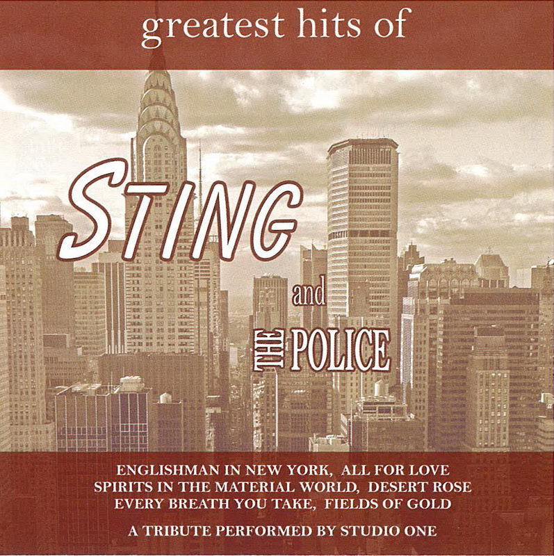 Greatest hits of Sting and The Police - CD