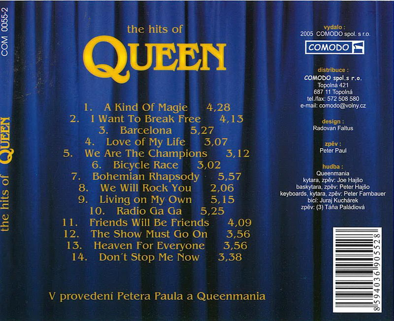 The hits of Queen - CD