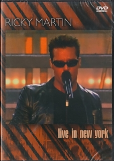 Ricky Martin Live in New York DVD