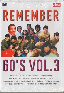 Remember 60´s Vol.3 DVD