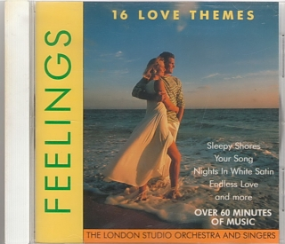 Feelings 16 love themes - CD