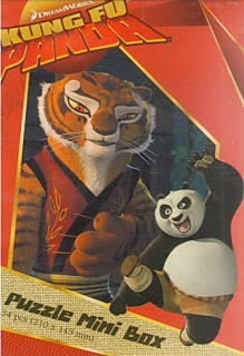 Puzzle mini box 54 - Kung fu panda
