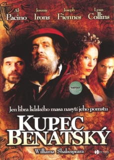 Kupec benátský William Shakespeare DVD