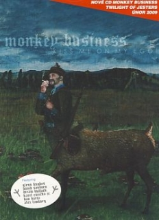Monkey Business Kiss me on my ego CD